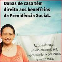 donas de casa, Previdência Social, INSS, Benefícios