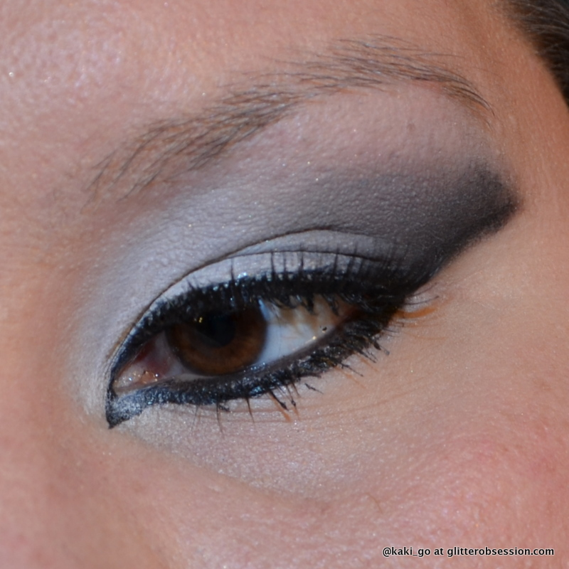 glitter obsession: The Penguin Makeup Challenge: Black u0026 White