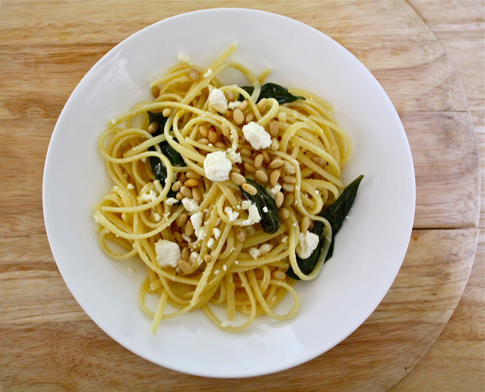 ... with lemon feta and linguine with lemon feta linguini with basil feta