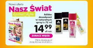 Nadchodząca oferta kosmetyczna w Biedronce.