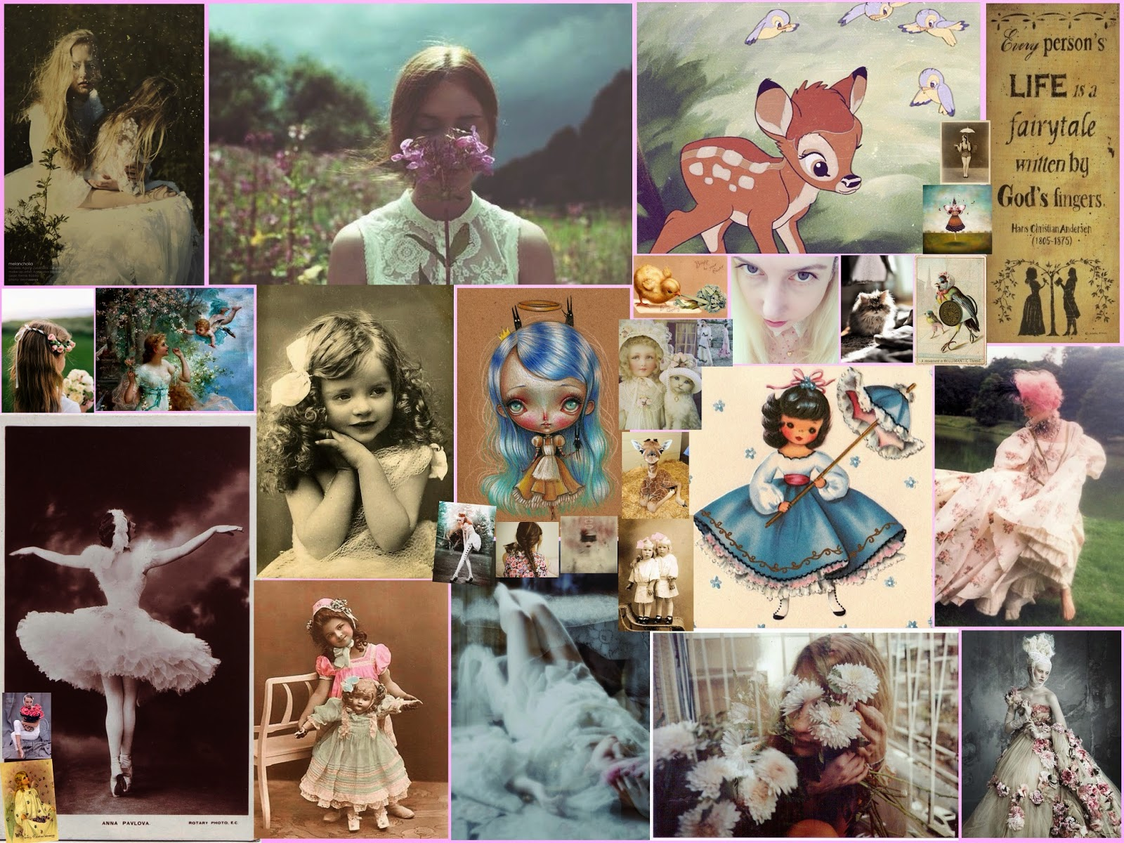 Fairy Tale Collage