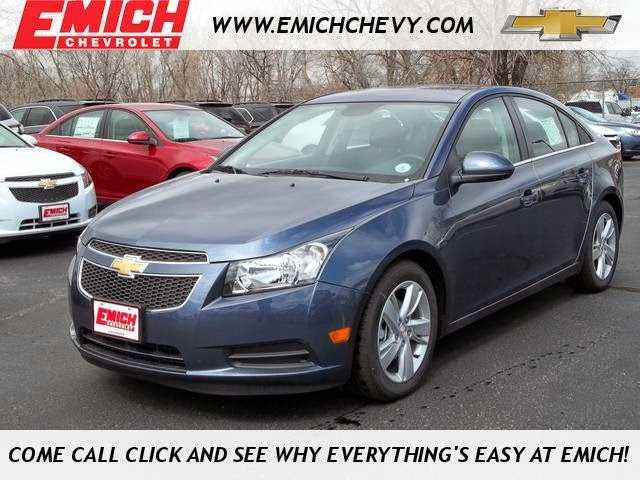 2014 Chevrolet Cruze Diesel at Emich Chevrolet