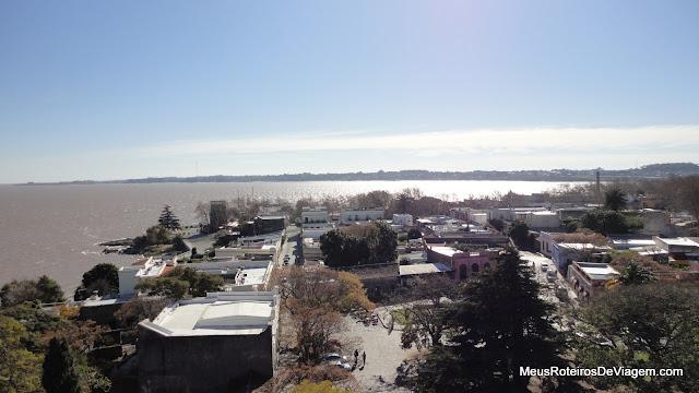 Vista do Farol de Colonia del Sacramento - Uruguai
