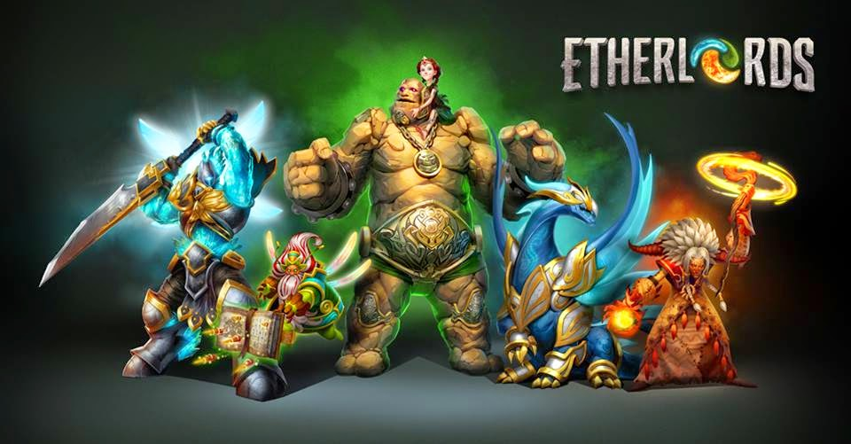 EtherLords Gameplay