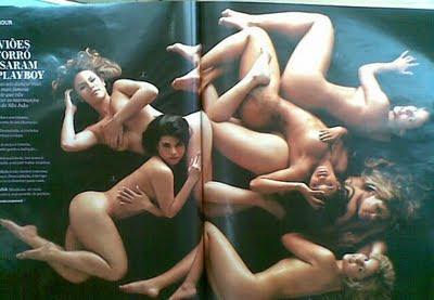 Playboy vai tirar a roupa das dançarinas do Aviões!