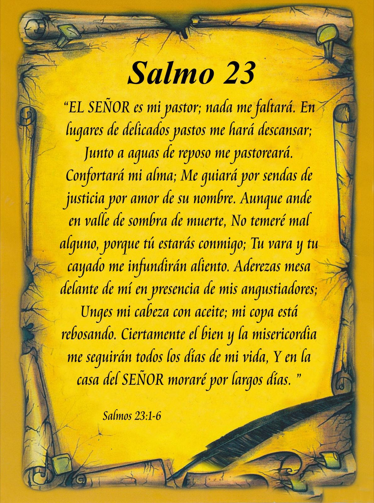 UN POCO DE TODO: SALMO 91