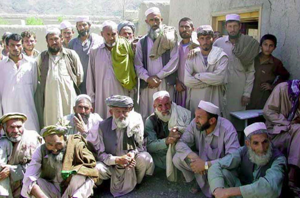 Afghan tribesmen
