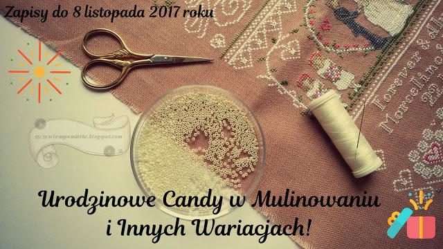 Urodzinowe candy w Mulinowaniu i innych wariactwach