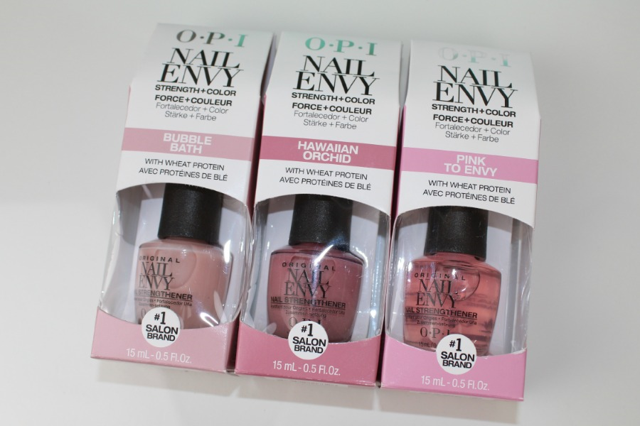 O.P.I Nail Envy Strength + Color Review and Photos