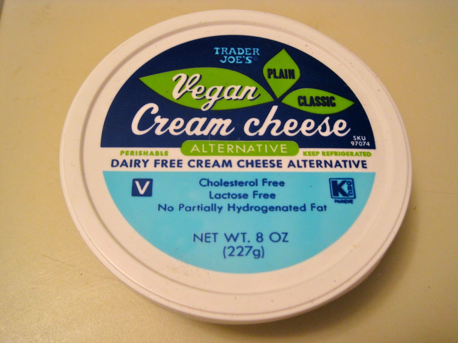 Vegan Cream Cheese - Trader Joe's from Veega - Vegan Blog