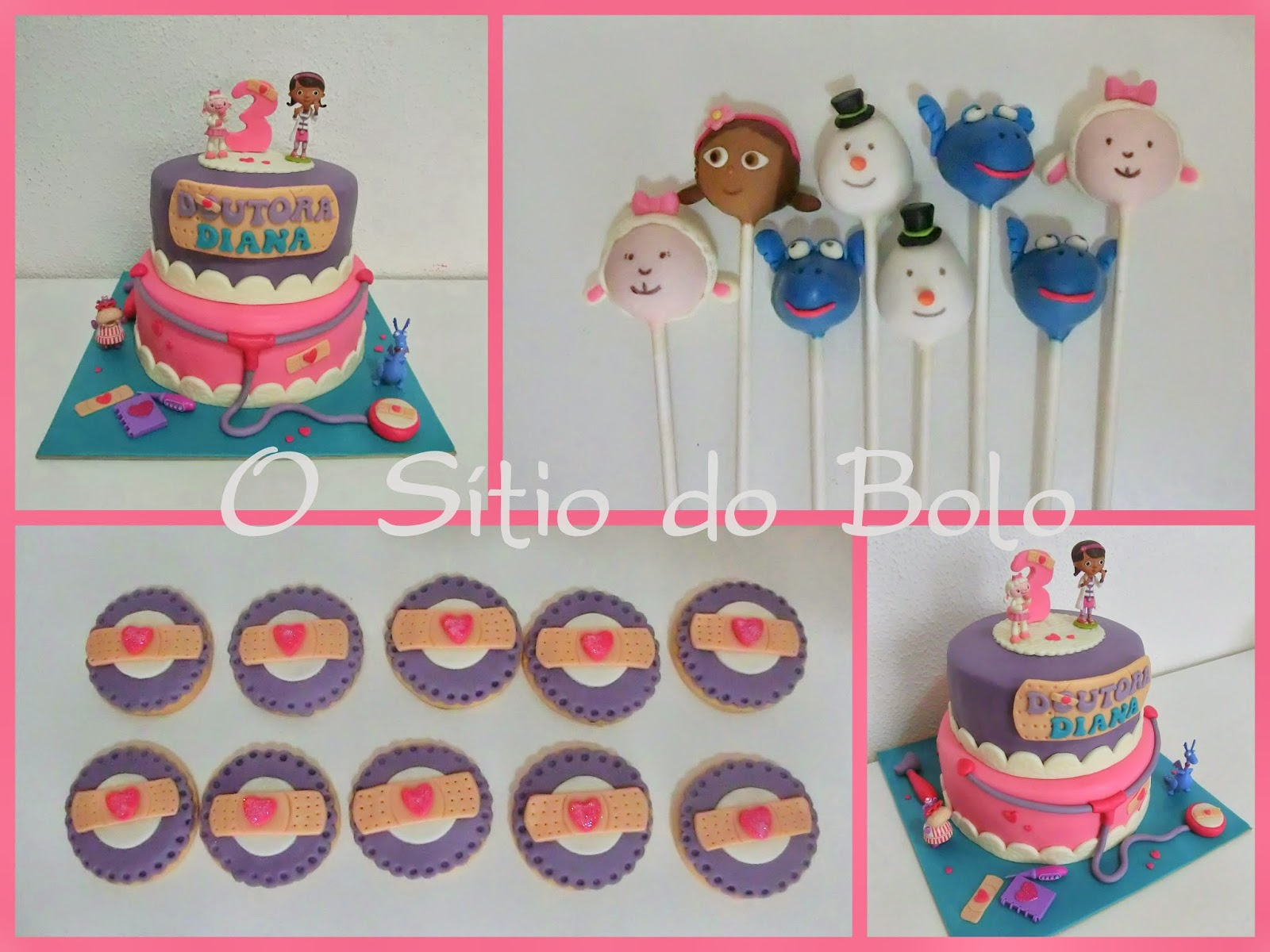 Well-known O sitio do bolo: Doutora Brinquedos em bolo, bolachas e cake pops NG24