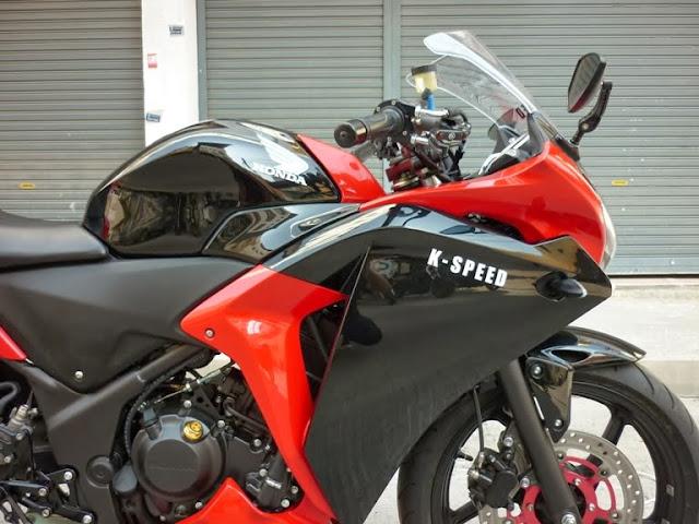 Perubahan Honda CBR250R
