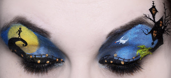Blue Fantasy Eye Makeup