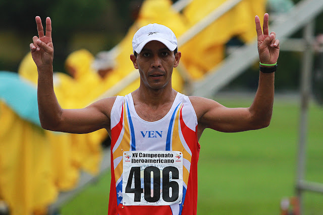 Yereman Salazar integra el equipo para prepararse en la prueba de 50 Kilómetros marcha