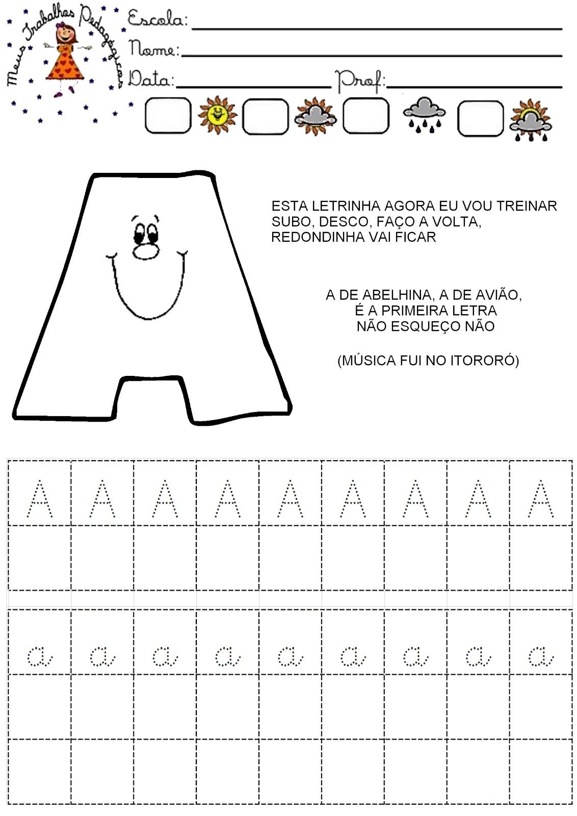 Ideia Da Simone Fiz Essas Atividades De Linguagem Oral E Escrita Para