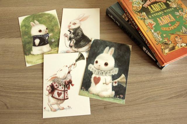 Белый кролик от Kei Acedera