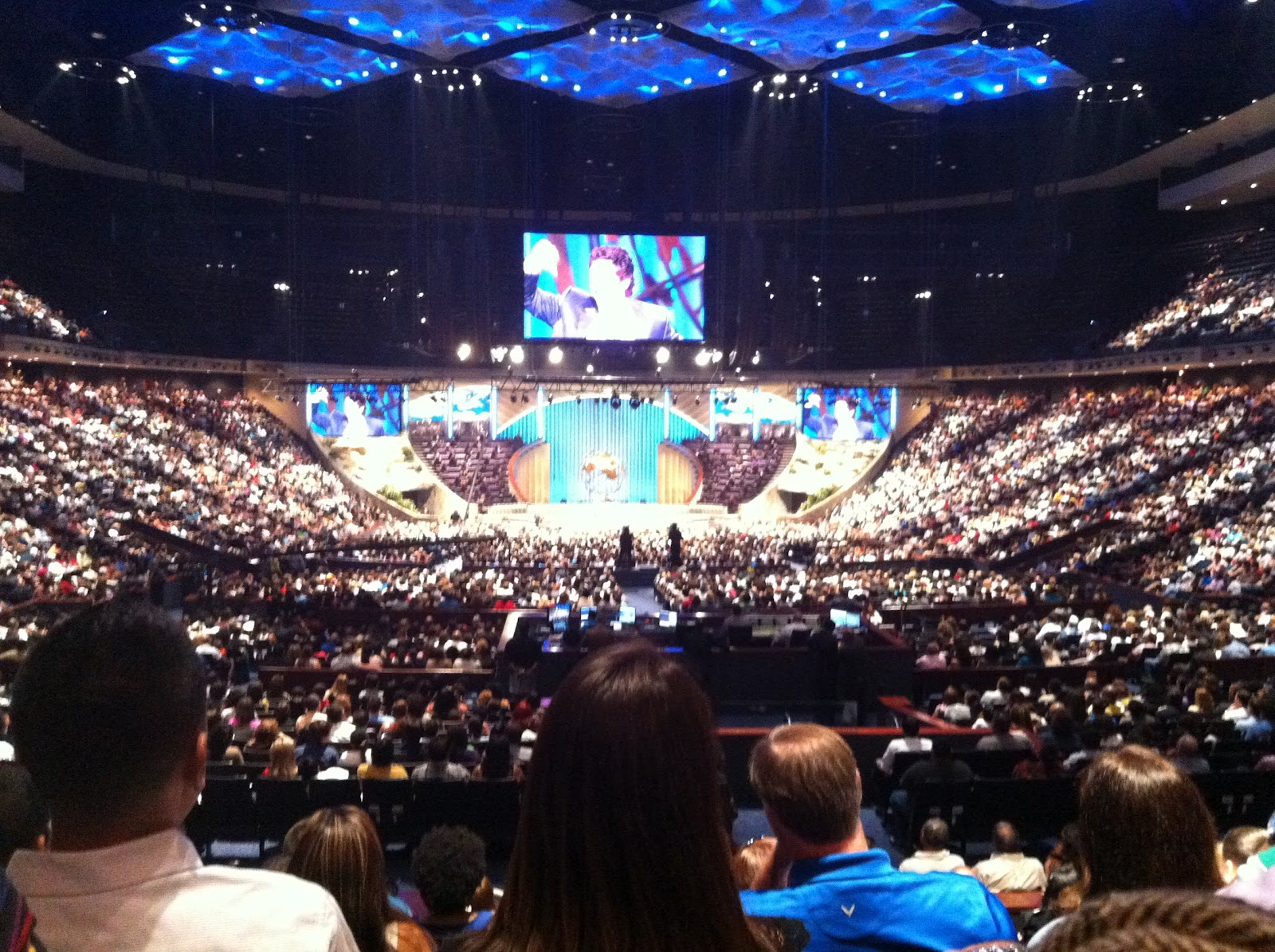 Joel Osteen Church Joel osteen s church inJoel Osteen Church Capacity
