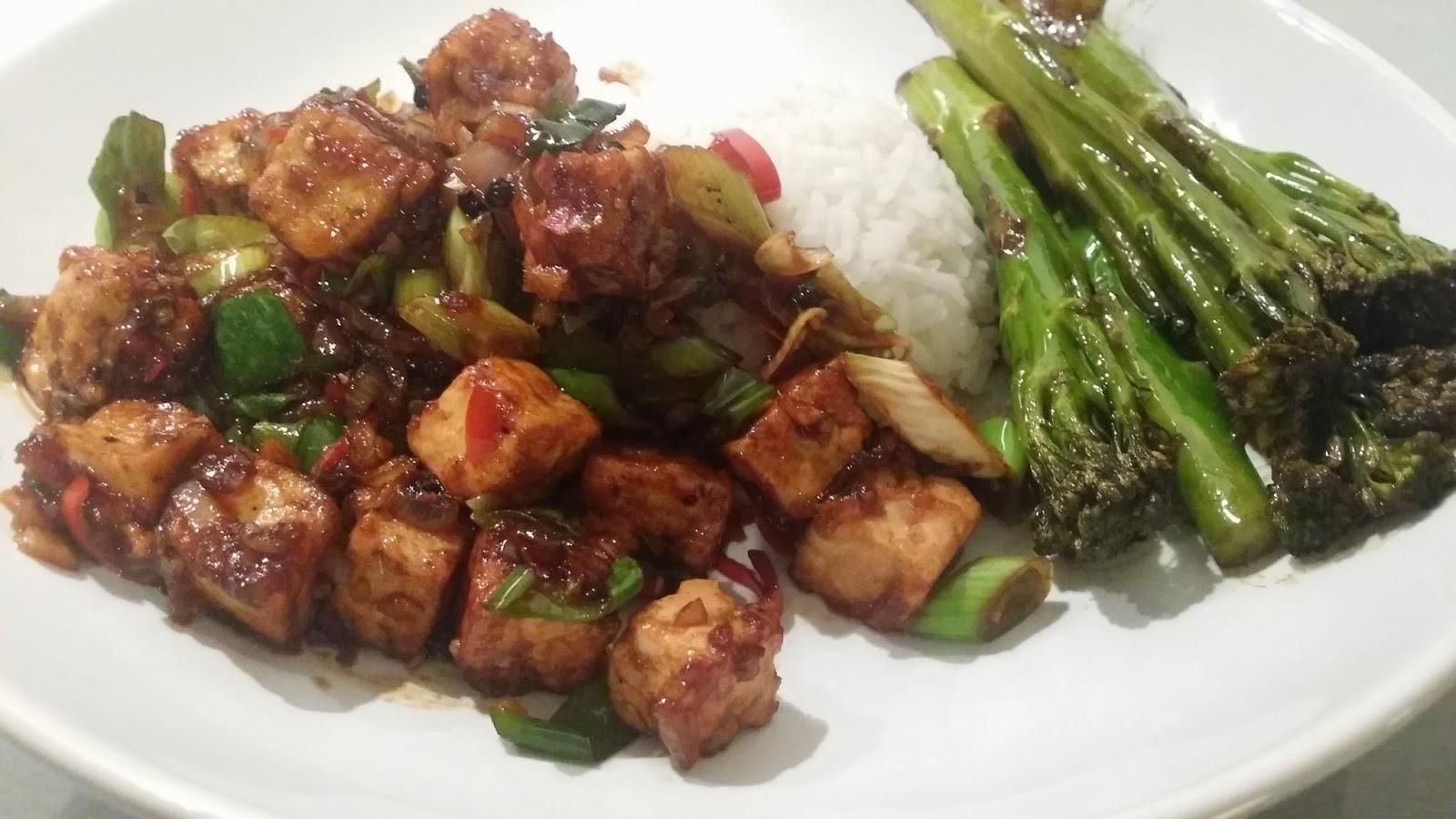 pittige vegetarische gerechten