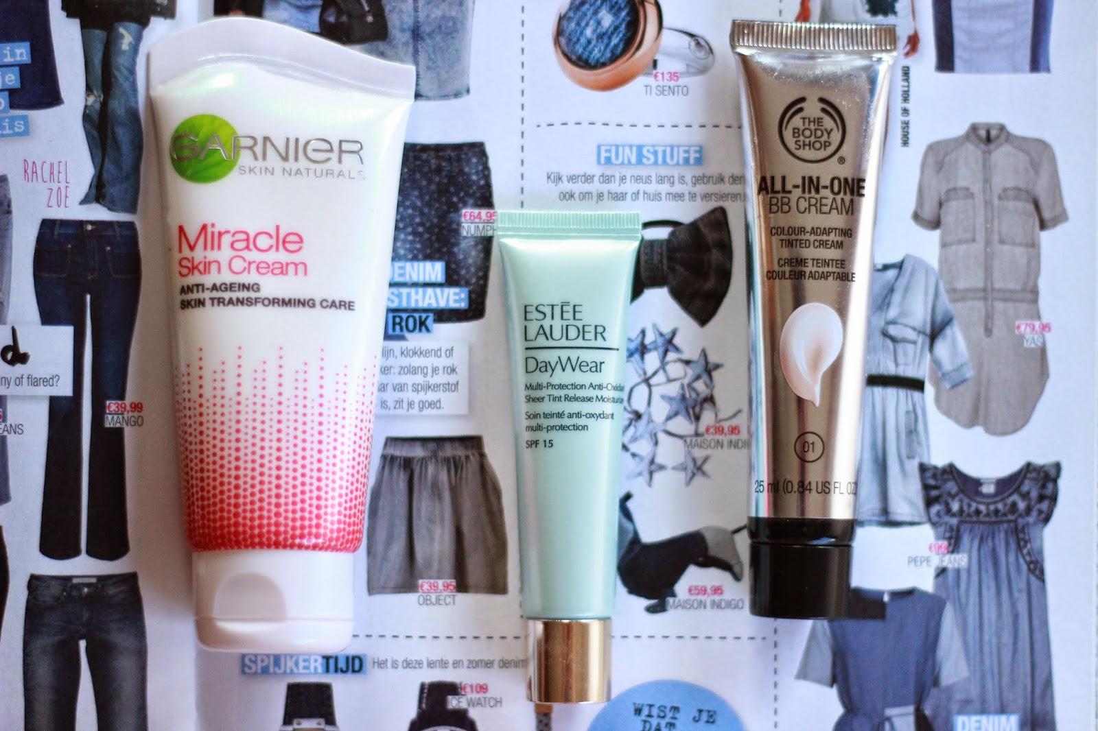 zomerse basis make-up, zomer foundation bb cream