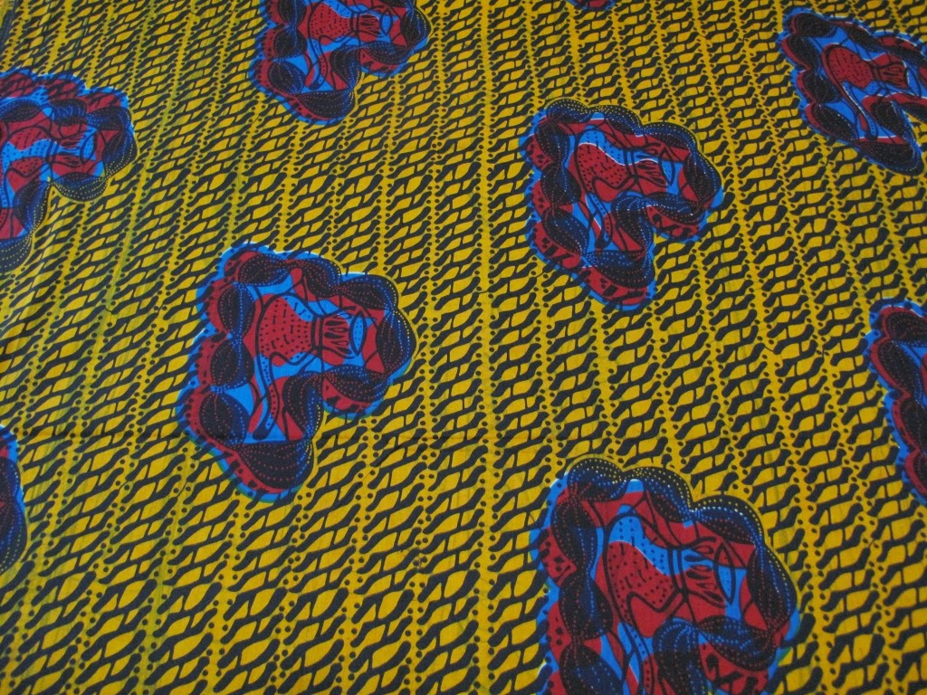 African Wax Print Fabric  - simpleintrigue.com