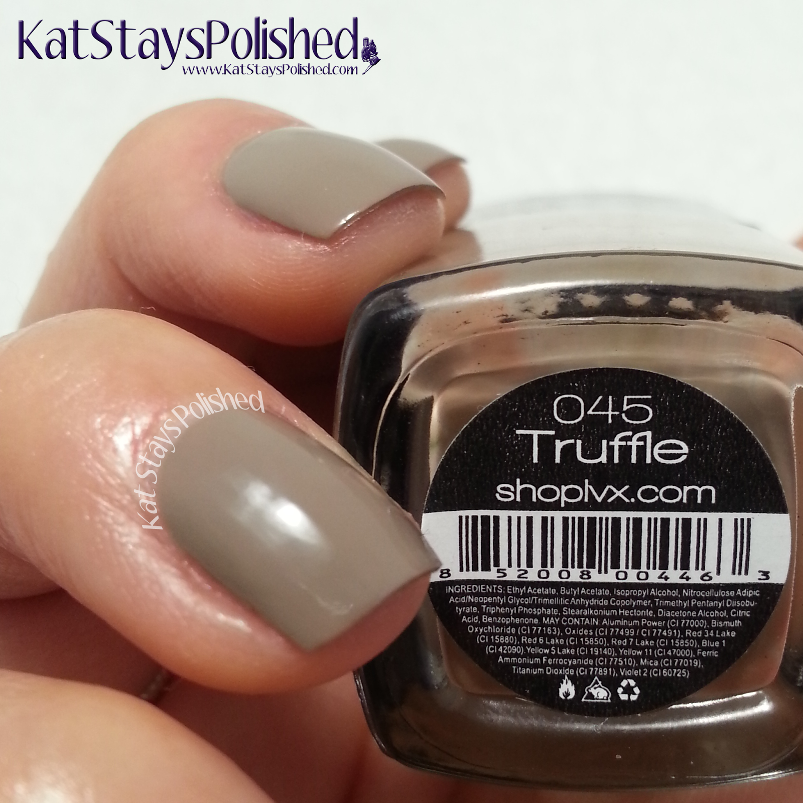 LVX Spring 2014 - Truffle | Kat Stays Polished