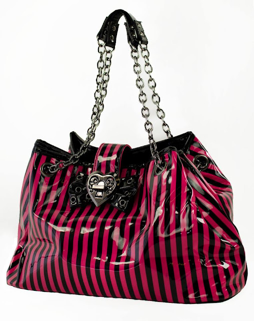 Pink Stripe Patti Bag for women