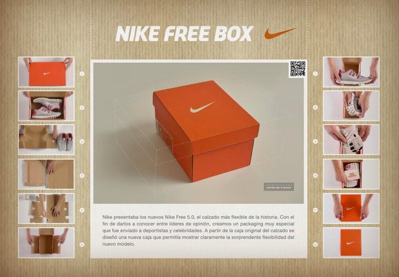 Nike Free Box para Nike Free 5.0