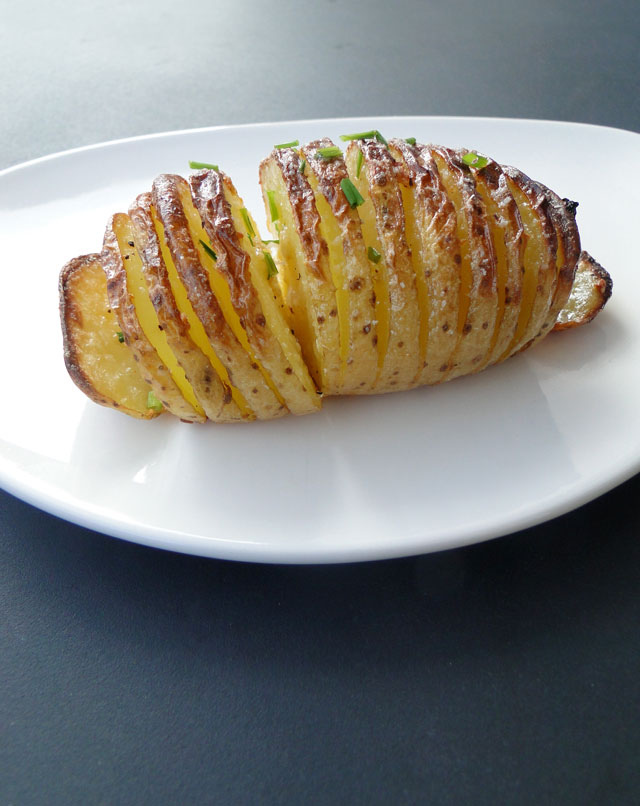 Sliced potato