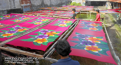 Indonesia Sarongs Pareo Factory