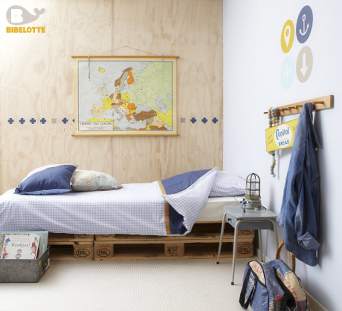 bedding from Bibelotte  travel collection