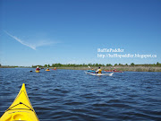 A perfect paddle on the Tay Canal from Perth, Ontario! (baffinpaddler kayaking tay canal marshes perth ontario canada boreal baffin sea kayak)