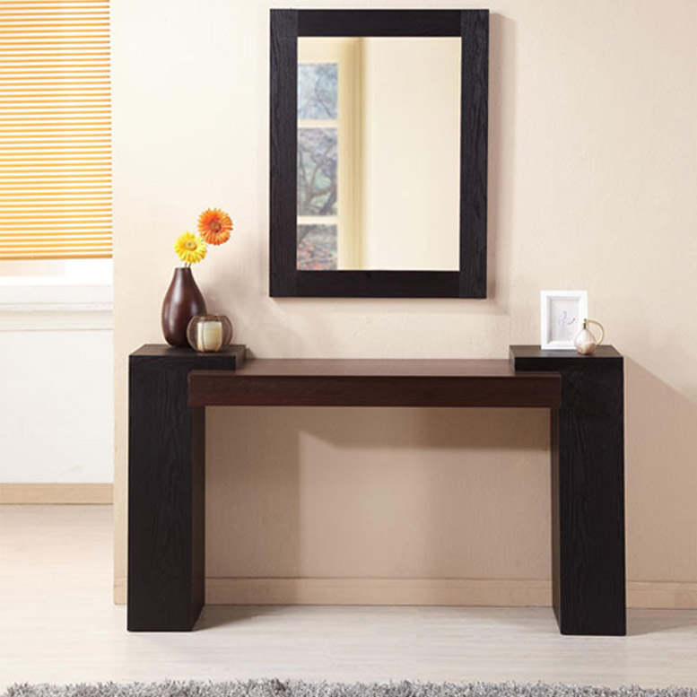 Modern Console Table Entryway Made Out Of A