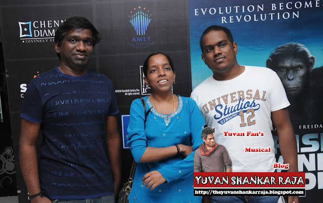 Yuvan in Rise of the Planet of Apes Movie Preview
