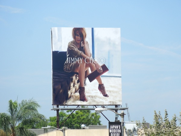 Nicole Kidman Jimmy Choo FW 2013 billboard