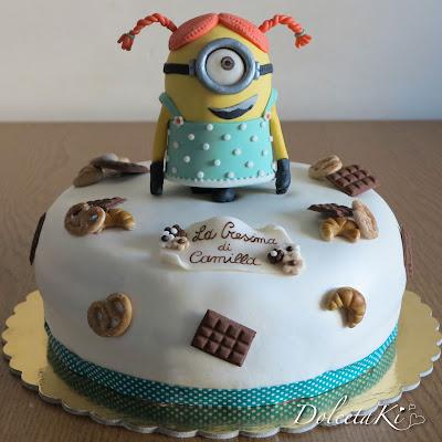 torta minion dolcetti