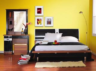 Ruang kamar pasangan muda Fengshui