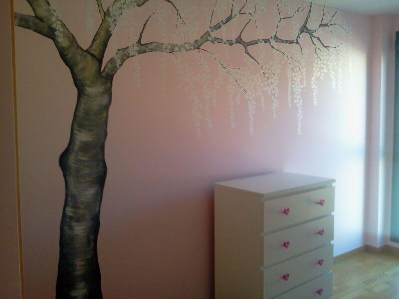 mi ltimo trabajo ha consistido en el diseo de unos dibujos decorativos en una habitacin juvenil with pintura dormitorio juvenil