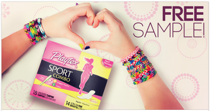 Extreme Couponing Mommy: FREE SAMPLE of Playtex Sport Pads, Liners ...