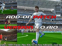 Add-on Patch v4 AIO untuk PES 2013 PESEdit 6.0