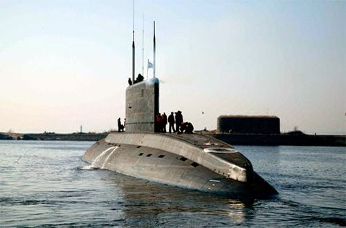 Russia's New 4th Generation Lada Submarine