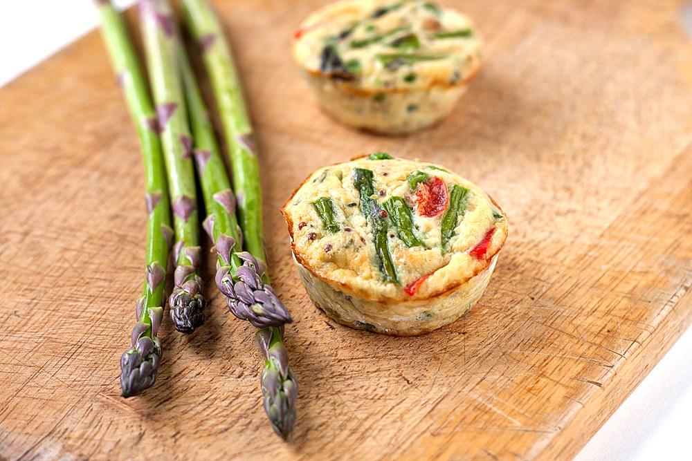 Asparagus Frittata Recipe — Dishmaps