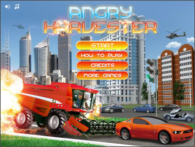Truck Game : Angry Harvesters