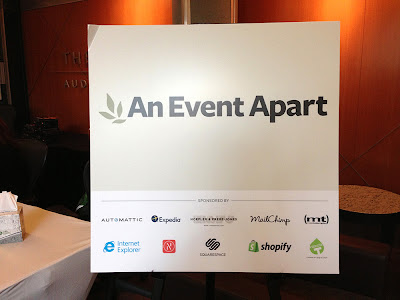 Nansen sponsors An Event Apart in Seattle