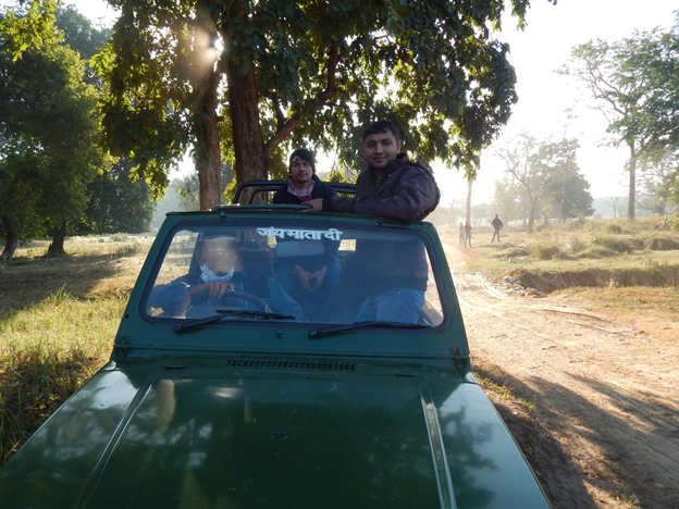 Jungle Safari at rajaji national park