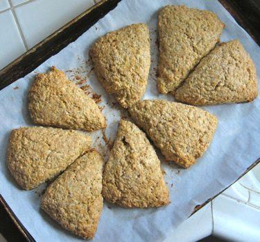 maple oat multigrain scones