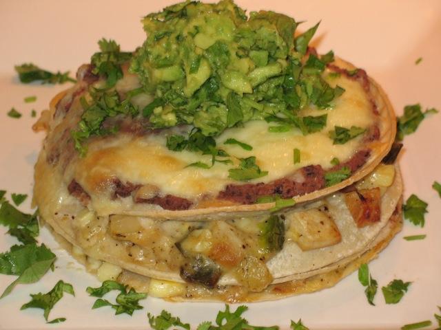 Cook In / Dine Out: Chicken Tortilla Pie