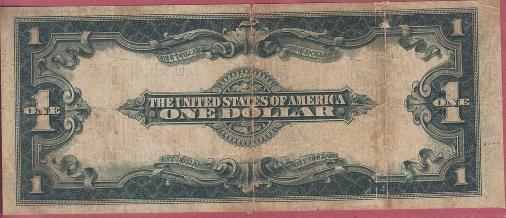 United States of America 1 Dollar 1923 serie P# 342