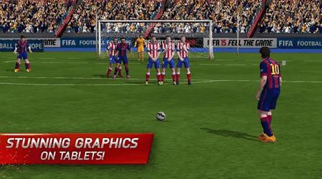 تعتبر لعبه FIFA 15 Ultimate Team من اجمل وأمتع العاب كرة القدم للهواتف المحمولة السامسونج جالاكسى