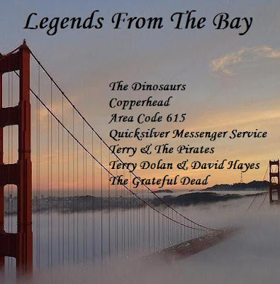Legends From The Bay - Vol 1 - Featuring John Cipollina, Barry Melton, Jerry Garcia, Terry Dolan & Many Others....