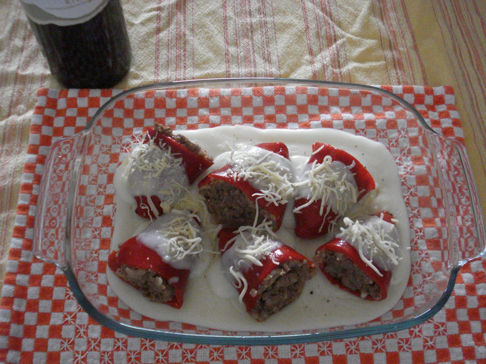 Ideas para cocinar pimientos piquillo rellenos de carne for Ideas para cocinar pasta